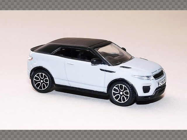 Range Rover Convertible >> Range Rover Evoque Convertible 1 76 Diecast Model Car