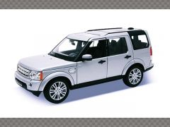 LAND ROVER DISCOVERY 4 2010 ~ SILVER| 1:24 Diecast Model Car