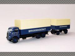 AEC MAMMOTH VAN & DRAWBAR TRAILER | 1:76 Model Truck