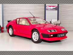 ALPINE A310 GT 1983 ~ RED | 1:18 Diecast Model Car