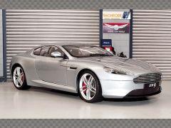 ASTON MARTIN DB9 ~ SILVER | 1:18 Diecast Model Car