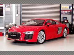 AUDI R8 V10 ~ RED | 1:18 Diecast Model Car