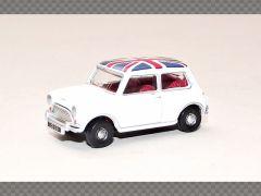 AUSTIN MINI COOPER ~ UNION JACK | 1:76 Diecast Model Car