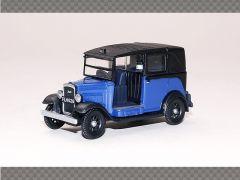 AUSTIN TAXI - BLUE | 1:76 Diecast Model Car