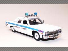 DODGE MONACO ~ 1974 ~ CHICAGO POLICE | 1:43 Diecast Resin Car