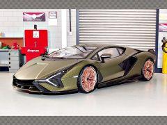 LAMBORGHINI SIAN FKP 37 ~ 2019 GREEN | 1:18 Diecast Model Car