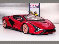 LAMBORGHINI SIAN FKP 37 HYBRID ~ 2020 | 1:18 Diecast Model Car