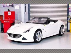 FERRARI CALIFORNIA T ~ WHITE | 1:18 Diecast Model Car