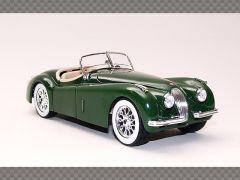 JAGUAR XK120 ~ GREEN | 1:24 Diecast Model Car
