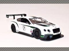 BENTLEY CONTINENTAL GT3 | 1:24 Diecast Model Car