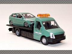 BREAKDOWN FLATBED - FORD FOCUS   1:43 Diecast Model Car