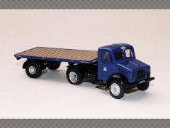 BEDFORD OX FLATBED TRAILER LNER | 1:76 Diecast Model Truck