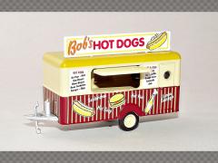 BOB'S HOT DOG MOBILE TRAILER | 1:76 Diecast Model Cars