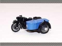 BSA MOTORBIKE AND SIDECAR - RAC | 1:76 Diecast Model Car