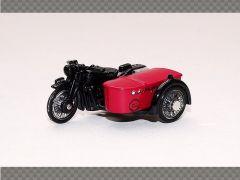 BSA MOTORBIKE AND SIDECAR - ROYAL MAIL | 1:76 Diecast Model Car