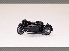 BSA POLICE MOTORBIKE AND SIDECAR | 1:76 Diecast Model Car