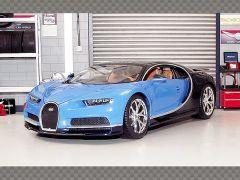 BUGATTI CHIRON ~ BLUE | 1:18 Diecast Model Car