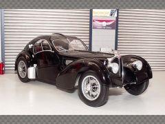 BUGATTI TYPE 57  SC ATLANTIC 1937 ~ BLACK | 1:18 Diecast Model Car