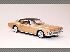 BUICK RIVIERA GS ~ 1971 ~ GOLD | 1:43 Diecast Model Car
