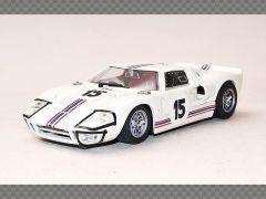FORD GT40 TEAM FORD FRANCE 24HRS LE MANS ~ 1966 | 1:43 Diecast Model Car