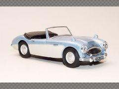 AUSTIN HEALEY CABRIOLET ~ BLUE | 1:43 Diecast Model Car