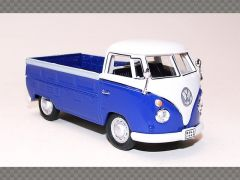 VOLKSWAGEN T1 OPEN PICKUP ~ BLUE | 1:43 Diecast Model Car