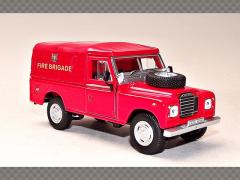LAND ROVER S3 109 ~ FIRE BRIGADE | 1:43 Diecast Model Car