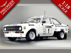 FORD ESCORT RS1800 #1 G.EVANS/J.MILLINGTON| 1:18 Diecast Model Car
