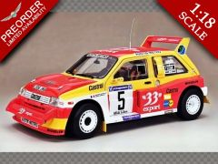 MG METRO 6R4 ~ WINNER CRITERIUM DES CEVENNES 1986 | 1:18 Diecast Model Car