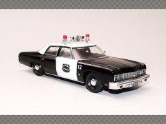 CHEVROLET BEL AIR POLICE CAR ~ 1973 | 1:43 Diecast Model Car