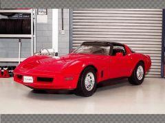 CHEVROLET CORVETTE COUPE 1982 | 1:18 Diecast Model Car