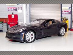 CHEVROLET CORVETTE STINGRAY 2014 ~ BLUE | 1:18 Diecast Model Car