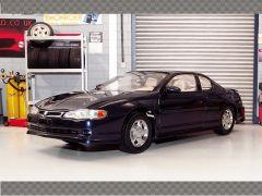 CHEVROLET MONTE CARLO SS 2000 ~ BLUE | 1:18 Diecast Model Car