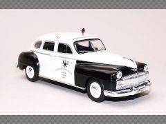 CHRYSLER DE SOTO ~ POLICE CAR | 1:43 Diecast Model Car