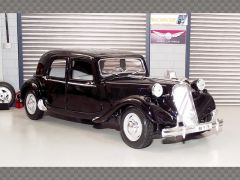 CITROEN 15CV 1952 ~ BLACK | 1:18 Diecast Model Car