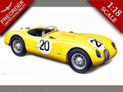 JAGUAR C-TYPE ~ 1953 24H FRANC #20 LAURENT/TORNACO   1:18 Diecast Model Car