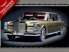 MERCEDES BENZ 600 | 1:18 Diecast Model Car
