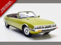 CITROEN SM MYLORD CONVERTIBLE CHAPRON ~ 1971 | 1:18 Diecast Model Car