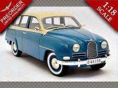 SAAB 95 ~ 1963 | 1:18 Diecast Model Car