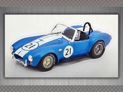 SHELBY AC COBRA 427 RACING ~ 1965 | 1:18 Diecast Model Car