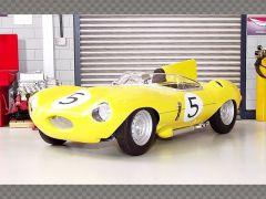 JAGUAR D TYPE ~ LE MANS ~ 1956 | 1:18 Diecast Model Car