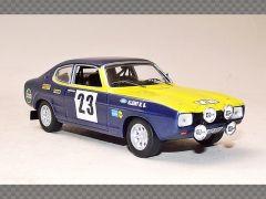 FORD CAPRI 2600 ~ OLYMPIA RALLY 1972   1:43 Diecast Model Car