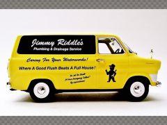 FORD TRANSIT MK1 ~ JIMMY RIDDLES - PLUMBER | 1:43 Diecast Model Car