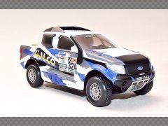 FORD RANGER PICKUP RALLY ~ 2017 | 1:43 Diecast Model Car