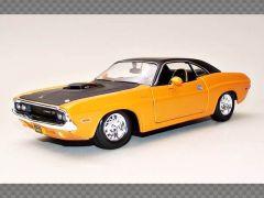 DODGE CHALLENGER RT 1970 | 1:24 Diecast Model Car