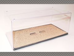 1:24 SCALE DISPLAY CASE SAND HD (HIGH DEFINITION) FINISH ~ PROTECT YOUR INVESTMENT! | Display Cases