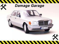 MERCEDES-BENZ S KLASSE ~ 1985   1:18 Diecast Model Car