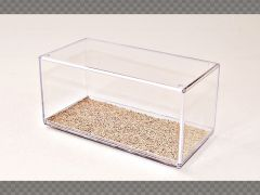 1:43 DISPLAY CASE SAND ~ HD (HIGH DEFINITION) FINISH ~ PROTECT YOUR INVESTMENT!