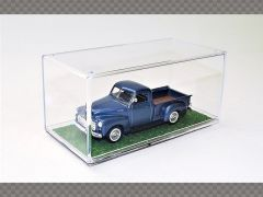 1:43 DISPLAY CASE GRASS/LEAVES BASE HD FINISH ~ PROTECT YOUR INVESTMENT!