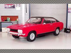 FORD CAPRI MK1 GT 1973 ~ RED | 1:18 Diecast Model Car
